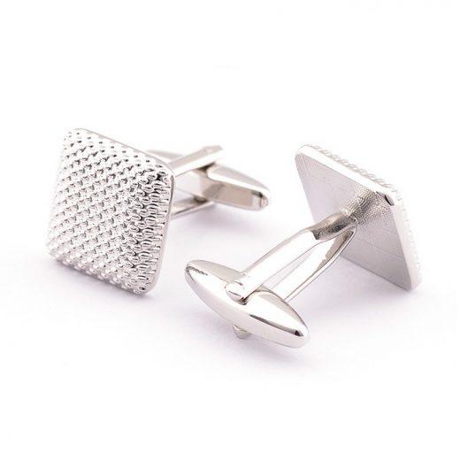 Luxusné manžetové gombíky so šachovnicovým vzorom