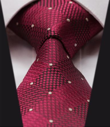 Elegantná sada - hodvábna kravata s vreckovkou - vzor01