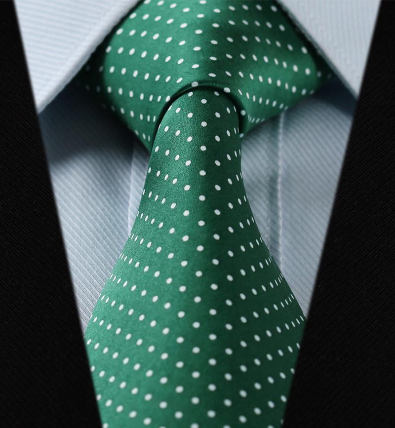 Elegantná sada - hodvábna kravata s vreckovkou - vzor09
