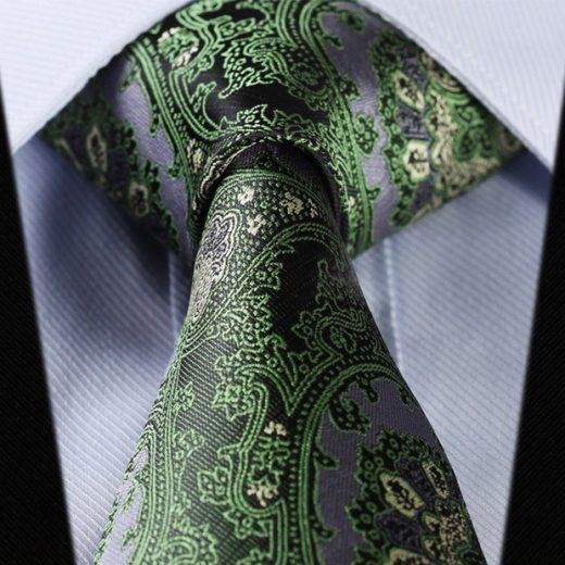 Luxusná pánska sada - kravata a vreckovka - vzor16