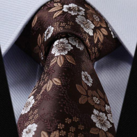 Luxusná pánska sada - kravata a vreckovka - vzor03