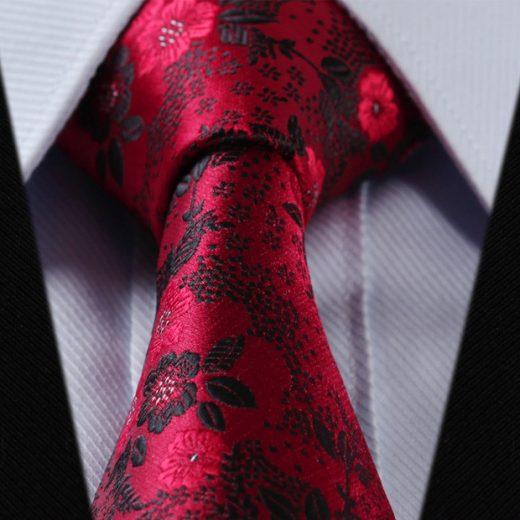 Luxusná pánska sada - kravata a vreckovka - vzor04