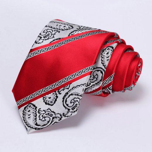Luxusná pánska sada - viazanka s vreckovkou - vzor 04