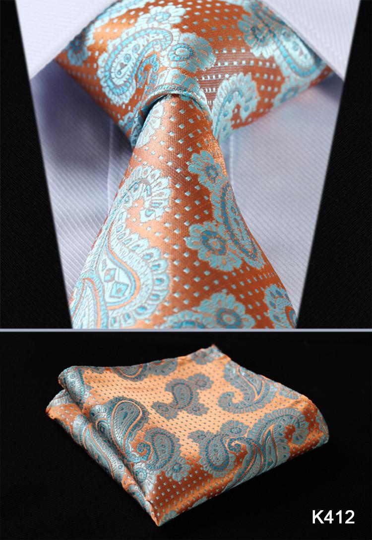 Luxusná pánska sada - kravata a vreckovka - vzor08