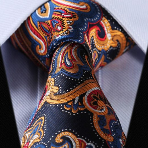 Luxusná pánska sada - kravata a vreckovka - vzor10