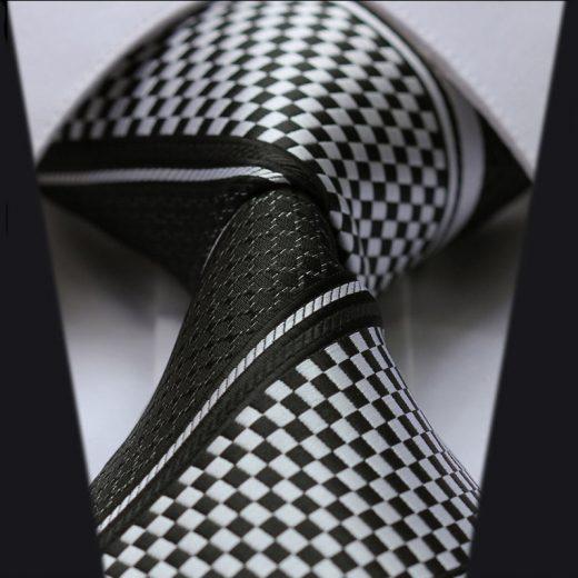 Luxusná pánska sada - kravata a vreckovka - vzor19