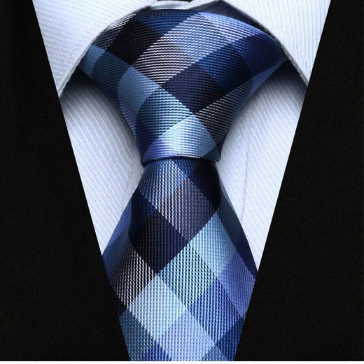 Luxusná pánska sada - kravata a vreckovka - vzor22