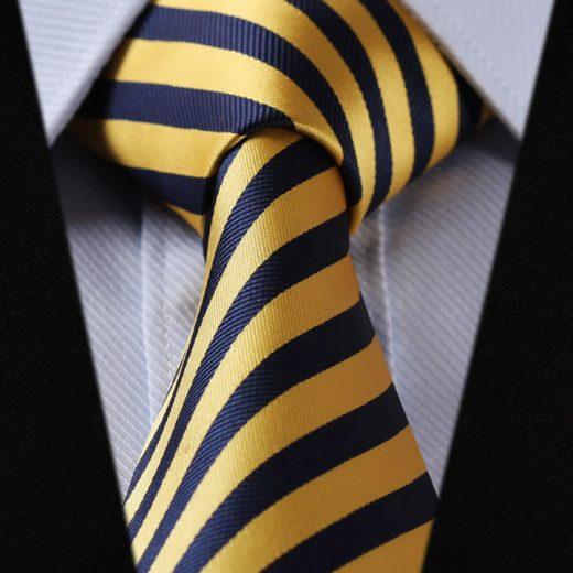 Hodvábna kravatová sada - kravata a vreckovka - vzor 26