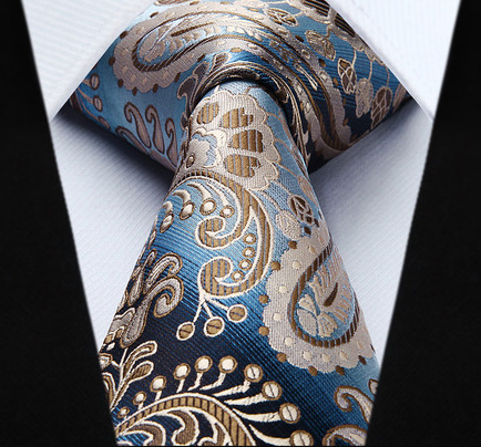 Elegantná pánska sada - kravata + vreckovka - č.3