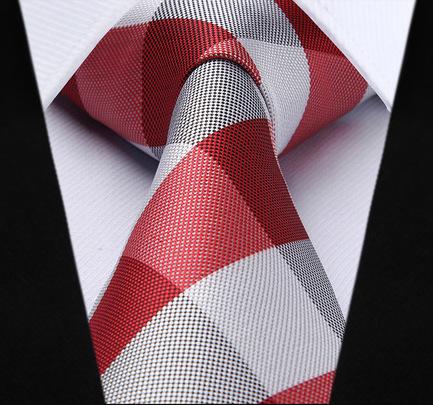 Elegantná pánska sada - kravata + vreckovka - č.5