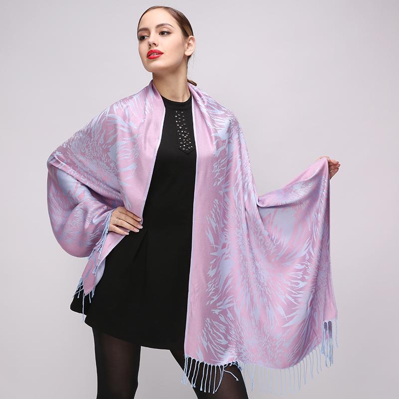 Výnimočný dámsky bavlnený šál, 175 cm x 68 cm
